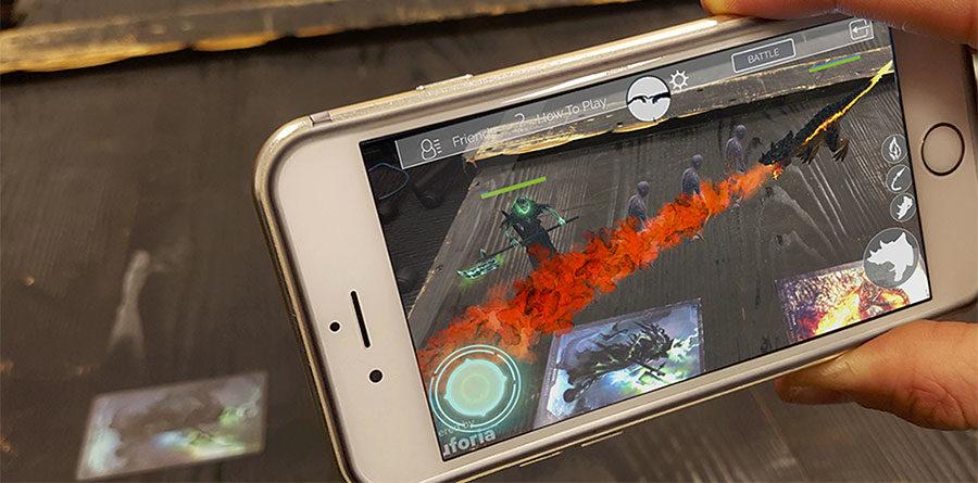 Virtual Reality TCG