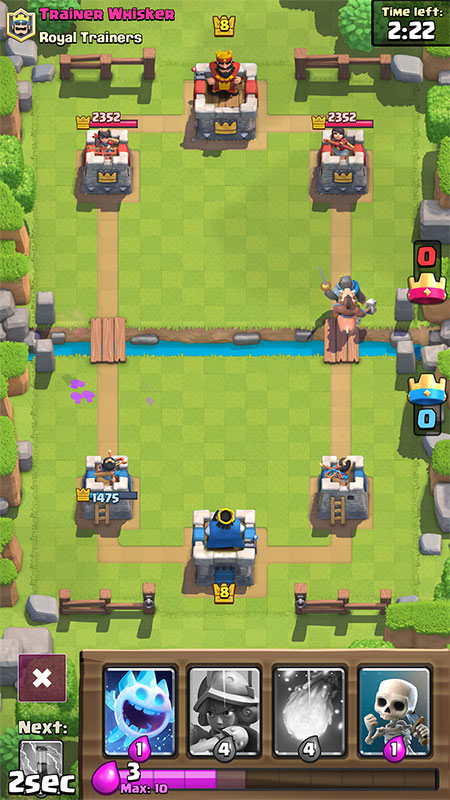 Best Clash Royale Deck: Fast Cycle and Control Hog Deck