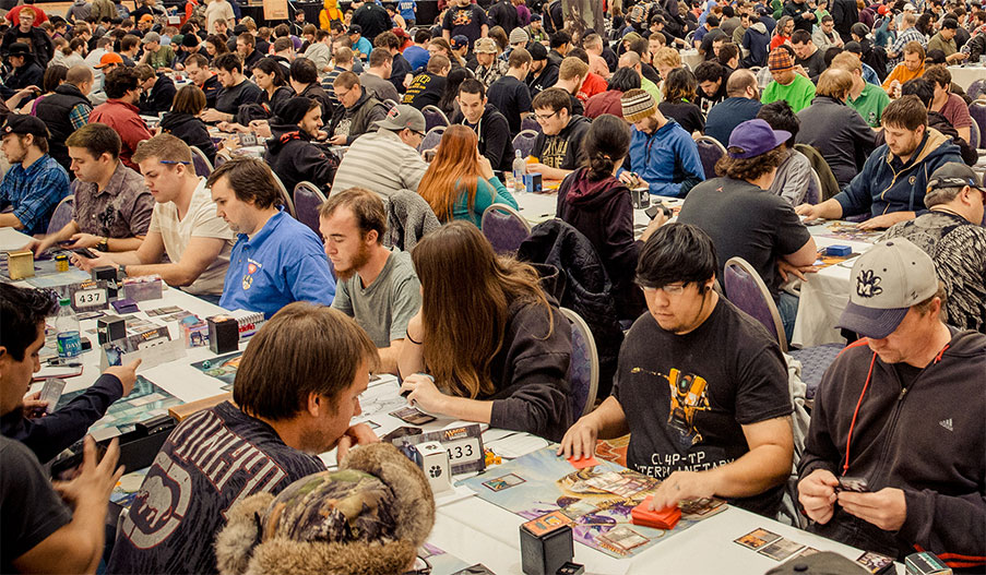 Magic The Gathering vs Hearthstone - MTG Grand Prix