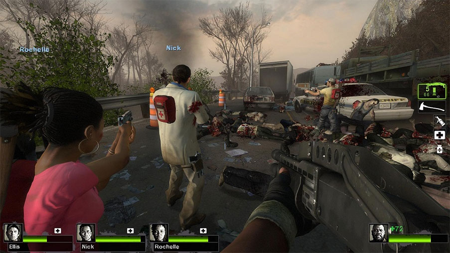 Gamers: Worst Companions in a Zombie Attack